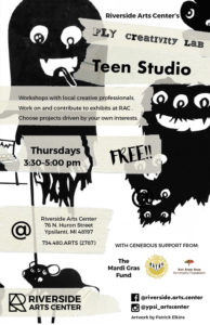 RiversideArtsCenter Teen Studio