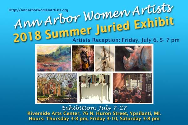 Ann Arbor Women's Artists: Summer Juried Exhibit