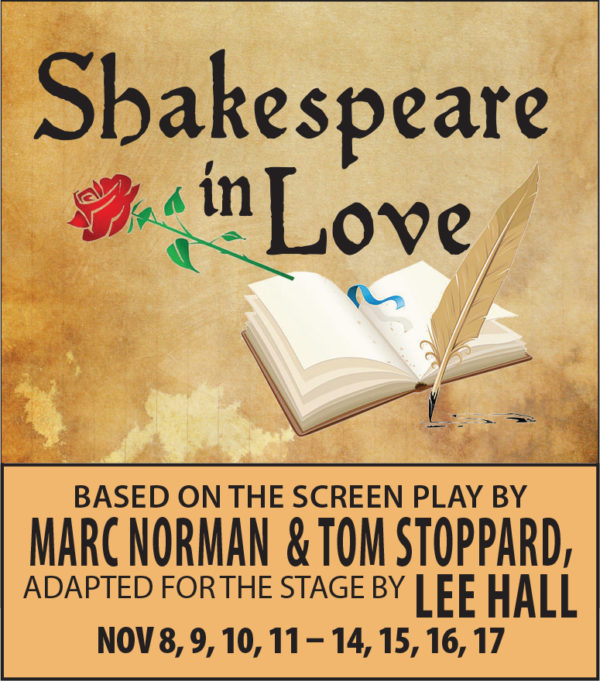 Shakespeare In Love By Ptd Productions Riverside Arts Center