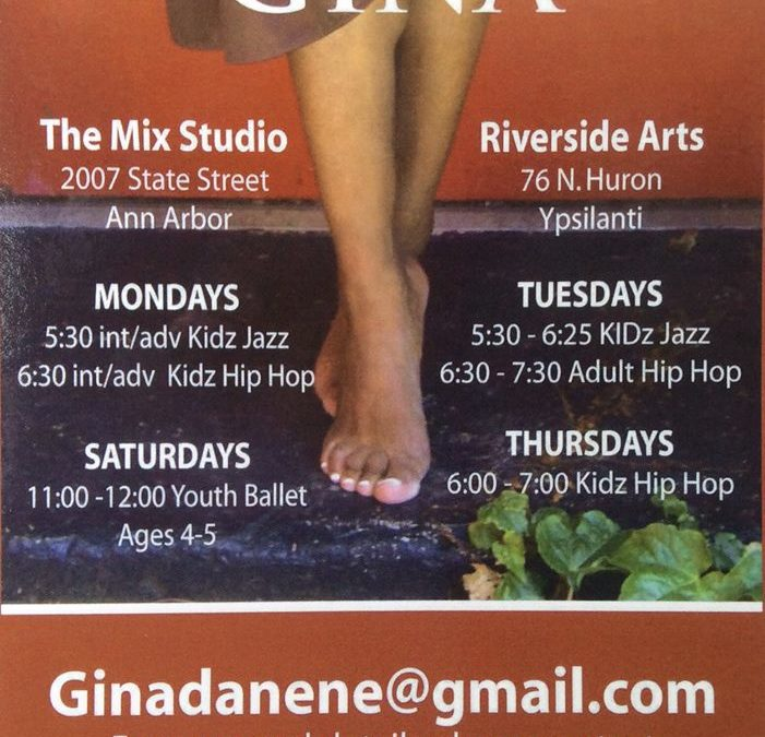 Adult Hip Hop! Dance with Gina