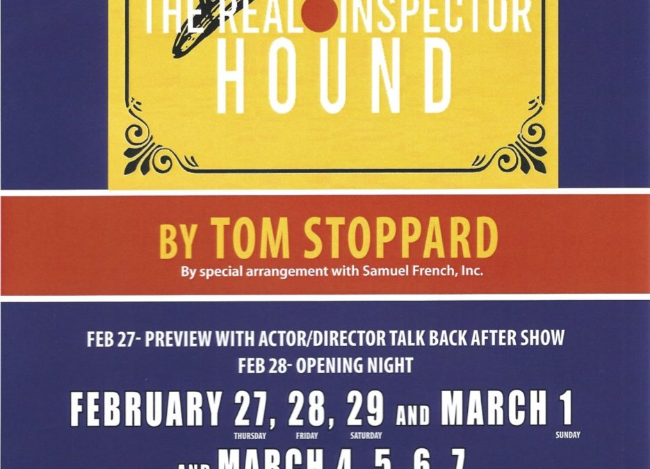 PTD Productions: The Real Inspector Hound